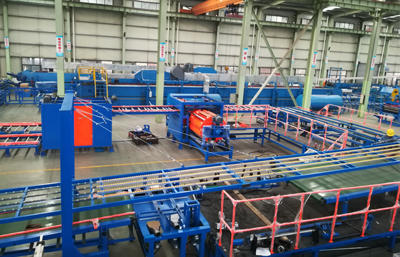 12.Automatic rock wool conveying system