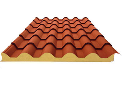 屋頂瓦面板
